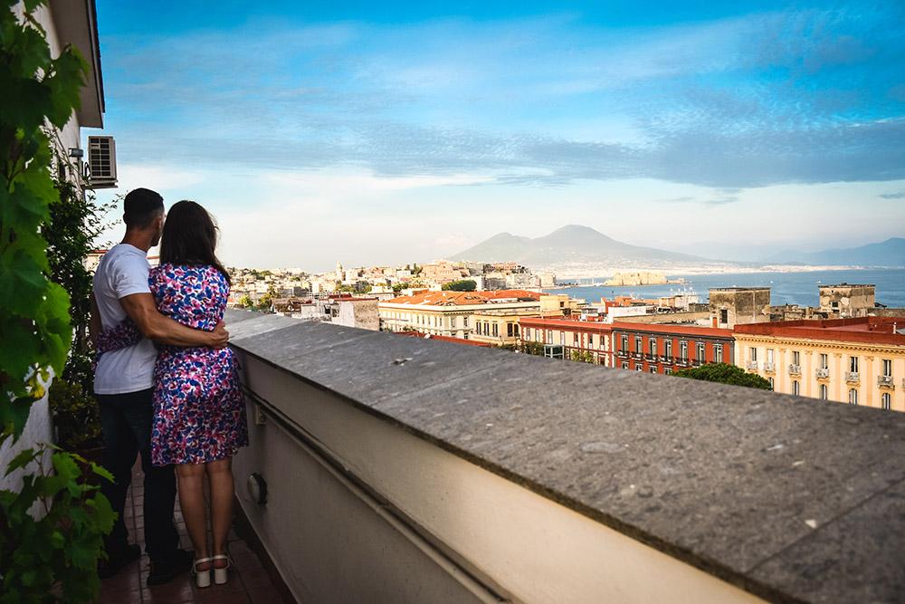 Dove dormire a Napoli con vista sul Golfo